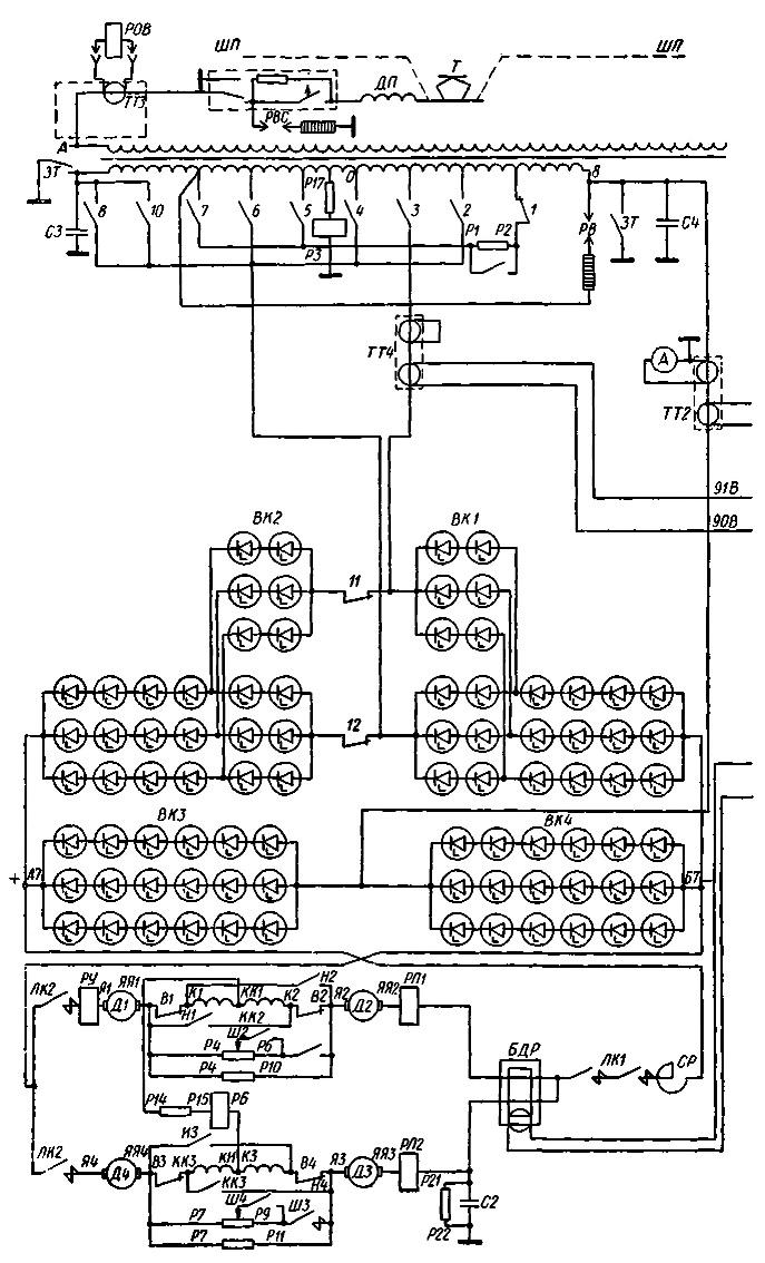 ПК-306Ф (на схеме JIK1) и