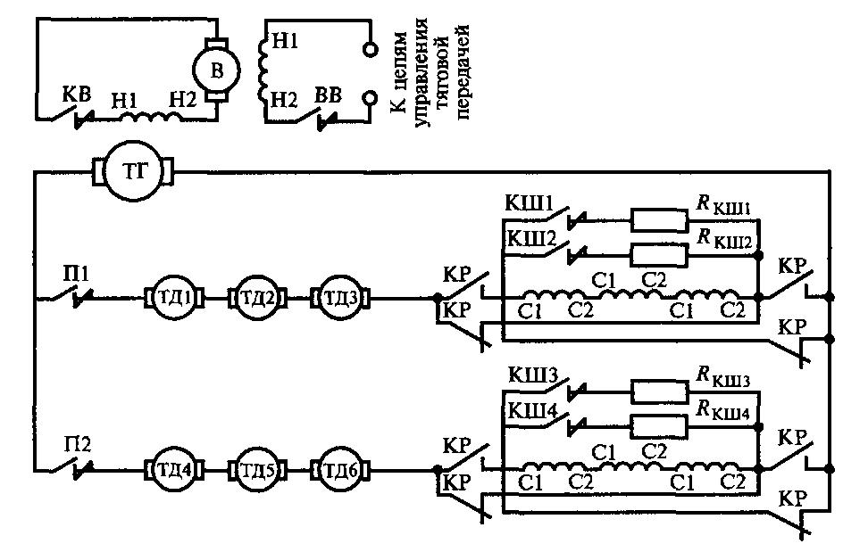 Схема реверсирования