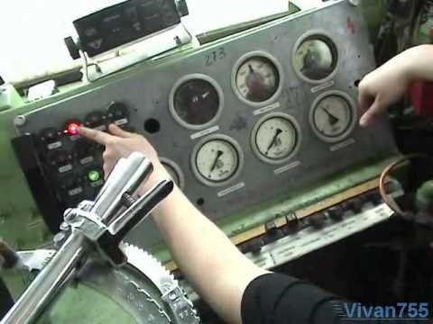 Электрическая схема силовых цепей Електровоз ВЛ10.